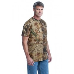 Russell Outdoors™ - Realtree   Explorer 100% Cotton T-Shirt with Pocket. S021R