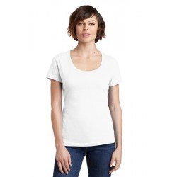 District Made   Ladies Perfect Weight   Scoop Tee. DM106L