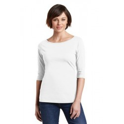 District Made   Ladies Perfect Weight   3/4-Sleeve Tee. DM107L