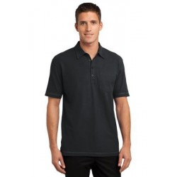 Port Authority   Modern Stain-Resistant Pocket Polo. K559