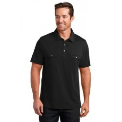 District Made   Mens Double Pocket Polo. DM333