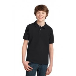 Port Authority   Youth Pique Knit Polo. Y420