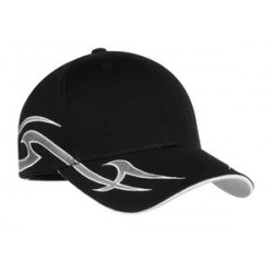 Port Authority   Racing Cap with Sickle Flames.  C878