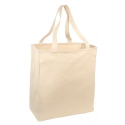Port & Company   Over-the-Shoulder Grocery Tote. B110