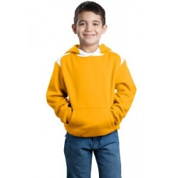 Sport-Tek   Youth Pullover Hooded Sweatshirt with Contrast Color. Y264